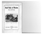 1926 Handbook of Missions