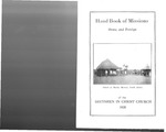 1928 Handbook of Missions