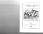 1929 Handbook of Missions