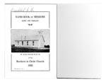 1933 Handbook of Missions