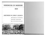 1939 Handbook of Missions