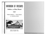 1947 Handbook of Missions