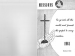 1961 Handbook of Missions by Brethren in Christ Church