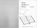 1967 Handbook of Missions by Brethren in Christ Church