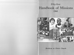 1968 Handbook of Missions by Brethren in Christ Church