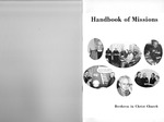1969 Handbook of Missions by Brethren in Christ Church