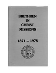 1978 Handbook of Missions by Brethren in Christ Church